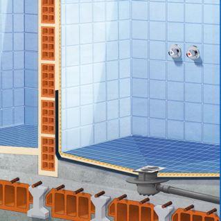 Cambiar la ba era por una ducha de obra aqua - Como hacer una ducha de obra ...