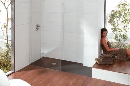 Plato de ducha enrasado securibath aqua - Plato ducha suelo ...
