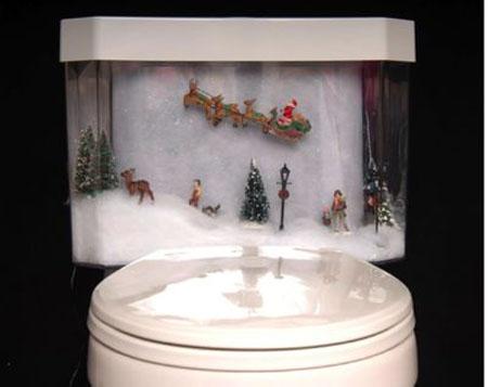 Adornos Para El Baño | Navidad En El Bano Aqua
