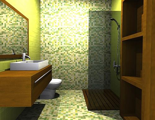 Azulejos ba os dos colores - Como limpiar juntas azulejos bano ...