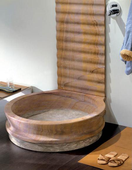 Ba os diferentes espacios unicos aqua for Utilidad del marmol