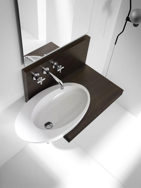 Lavabos Ovalados Para Baño:Lavabos: Diversidad formal y de materiales – aqua