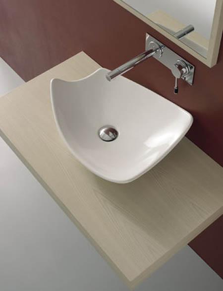 Baño Japones Granada:Lavabos: Diversidad formal y de materiales – aqua