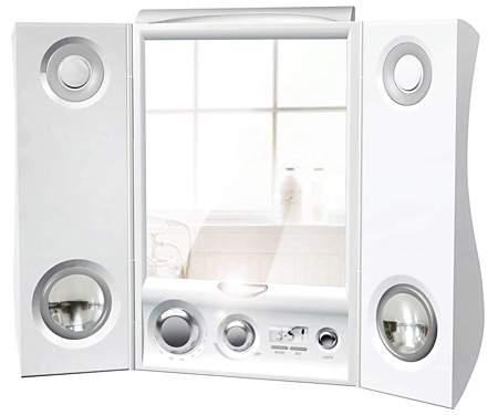 Espejo para cantar en la ducha aqua for Espejo ducha