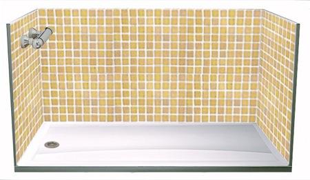 Cambiar la ba era en horas sin obras y sin poner azulejos - Que azulejos poner en el bano ...