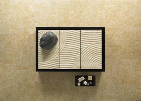 Zona de ducha zen aqua for Jardines zen valladolid