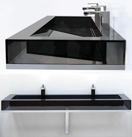 Lavabo minimalista by trentino aqua for Lavabo minimalista