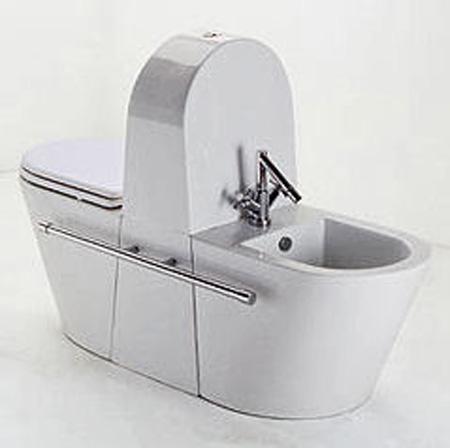 Ahorro de espacio en el cuarto de ba o aqua - Inodoro bidet integrado precios ...