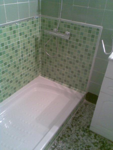 Cambio de ba era por ducha aqua - Ducha en la terraza ...