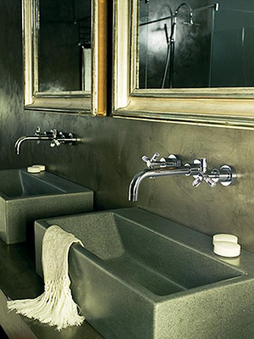 Grifer a empotrada de ram n soler para lavabos aqua for Griferia empotrada
