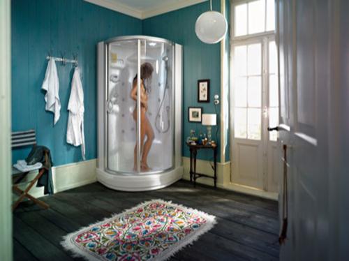 Regadera De Baño Moderna:las cabinas de ducha con hidromasaje ofrecen un universo de