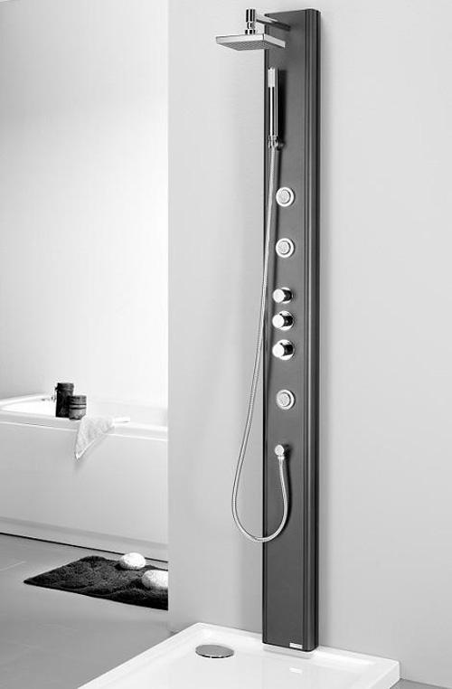 Columna de ducha para el ba o de dise o aqua - Ducha de diseno ...