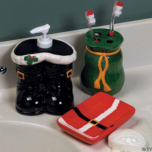 Adornos navide os para el ba o aqua for Articulos decoracion banos