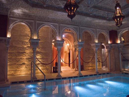 Baño Arabe Hammam Granada:Los Baños Árabes de Benalmádena, entorno mágico y relajante que