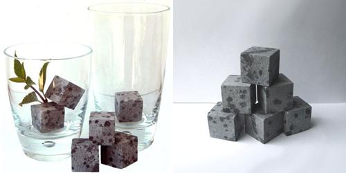 Soapstone Ice Cubes