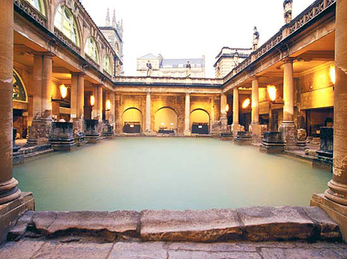 Baños Romanos Historia:baños_romanos