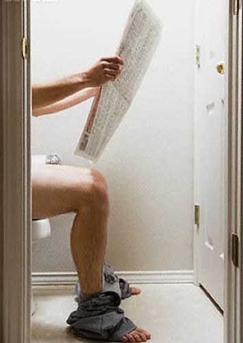 Hombres ¿ Porque Leen Cuando Cagan ?  para las mujeres