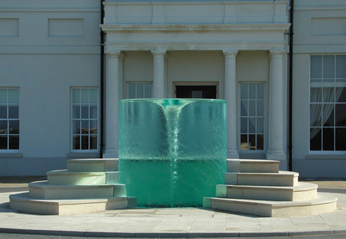 Esculturas de agua de William Pye