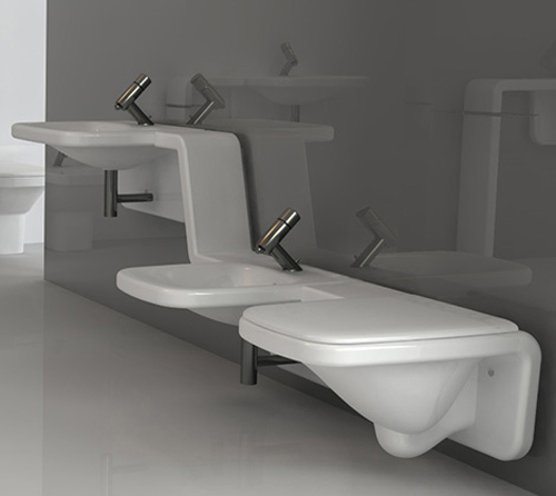 Colecci n moss de axa sistemas sanitarios aqua - Fotos de inodoros ...