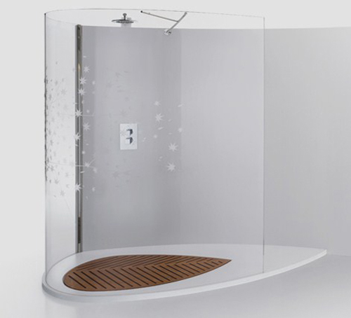 Baño Con Ducha Sin Plato:Plato de ducha sin fronteras Sogno