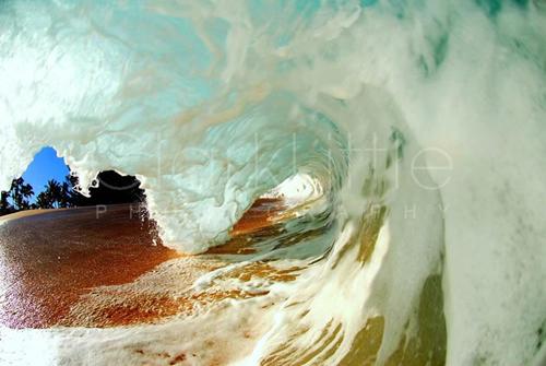 dentro de la ola Clark Little
