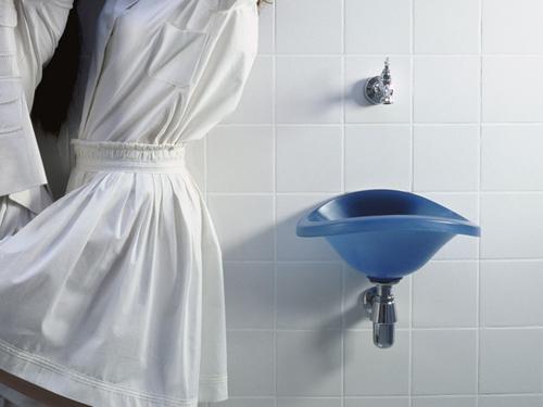 Lavamanos Baño Pequeno:Lavamanos para el baño blando de droog design