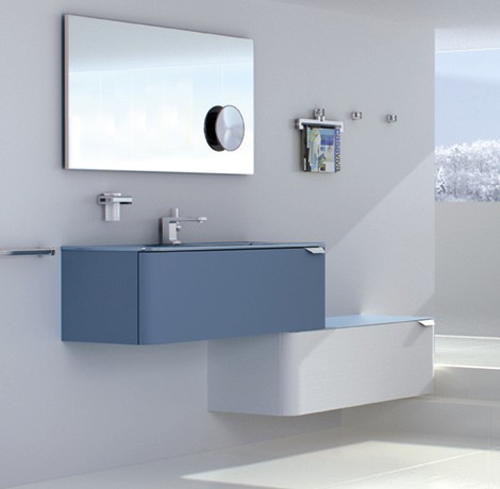 Muebles modulares azules Sonia