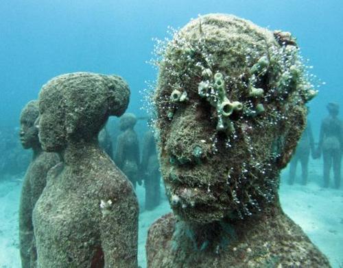 jason de caires. esculturas bajo el agua