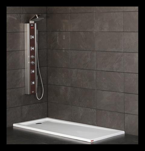 Platos de ducha para el ba o securibath aqua - Platos de ducha con mampara ...