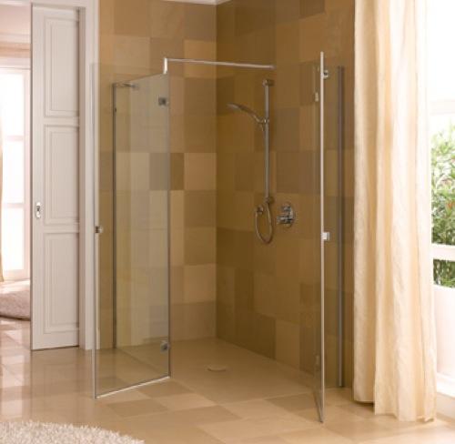 Platos de ducha cl sicos a ras de suelo o en kit aqua - Modelos de mamparas de ducha ...