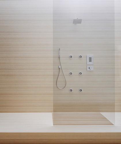 El cuarto de baño actual - aqua