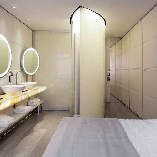 Ba os del hotel puerta de am rica aqua - Hotel mariscal madrid ...