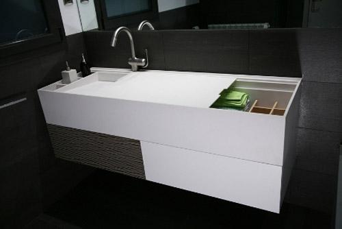Nuevos muebles para ba os peque os aqua - Muebles de bano para ninos ...