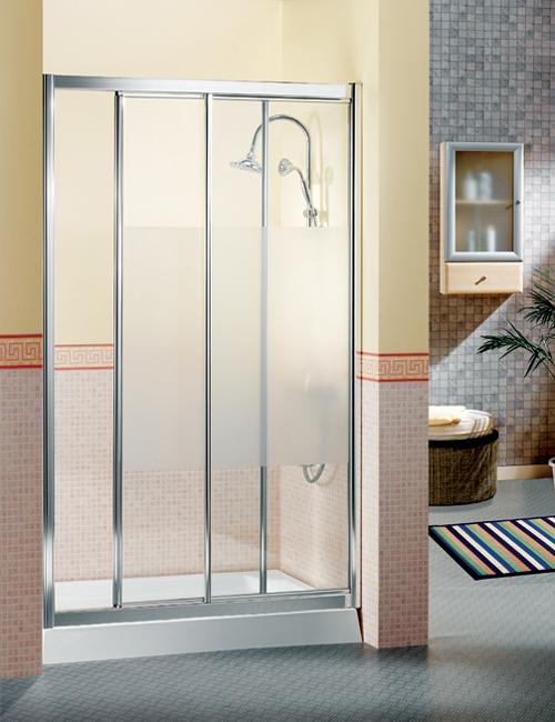 Mamparas de ba o tipos de cerramiento aqua for Tipos de duchas para banos