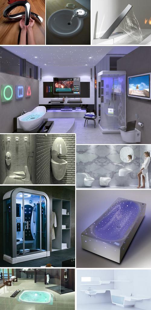 Accesorios y cuartos de ba o futuristas aqua - Accesorios para cuarto de bano ...