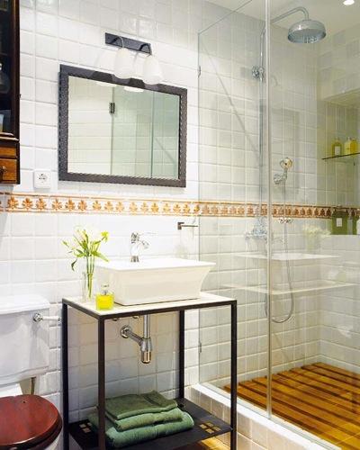Duchas nueve ejemplos con estilo aqua - Instalar mampara ducha ...