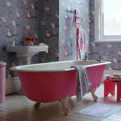 Cinco cuartos de baño con bañera - aqua