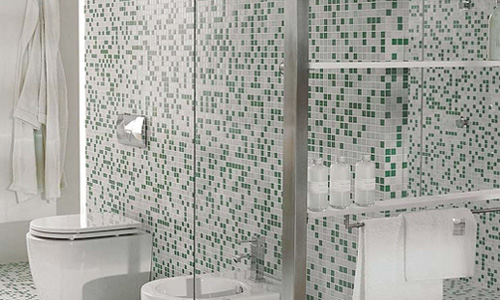 Decoracion Baño Gresite:Este tipo de material hará que tu baño sea un espacio especial y muy