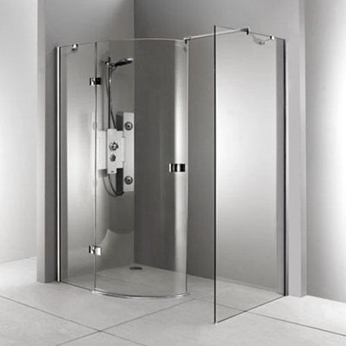 Mamparas para ducha de obra for Ducha facil