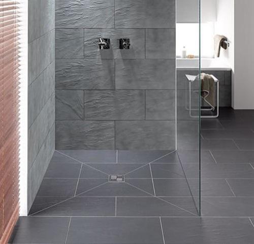 Baños Modernos Con Plato De Ducha: para el cuarto de baño platos de ducha extraplanos que facilitan el
