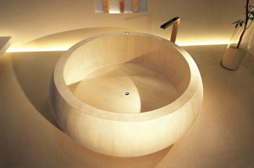 Diseno De Baños Japoneses:Baños japoneses, placer minimalista