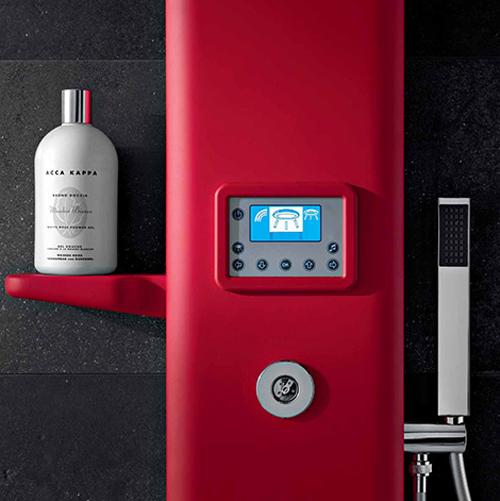 Columnas termost ticas con hidroterapia y cromoterapia de - Columnas de ducha termostaticas ...