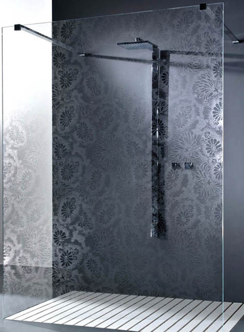 Mamparas Para Baños Glass:Superficies de vidrio decorado de Vitrealspecchi – aqua