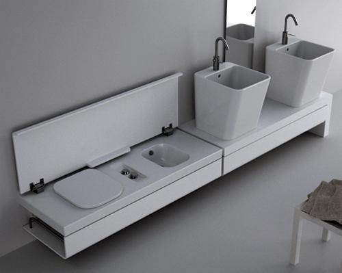 Bidet Para Cualquier Baño:Baños compactos