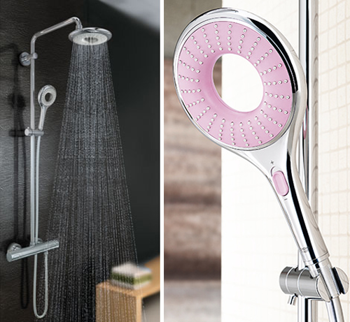 grohe rainshower icon aqua. Black Bedroom Furniture Sets. Home Design Ideas