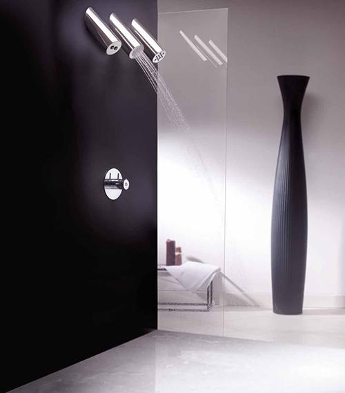 three-showerhead