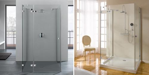 Mamparas de cristal para ducha calidad dise o y - Mamparas de ducha de diseno ...