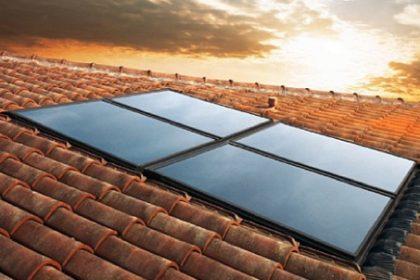 Panel solar ducha a medida