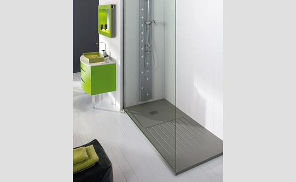 Platos de ducha rectangulares adapt ndose al espacio aqua - Cuartos de bano con plato de ducha ...