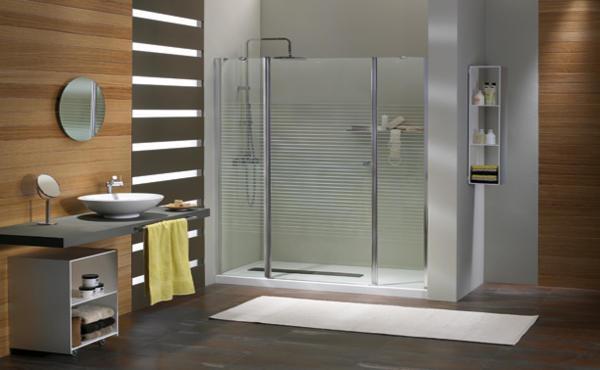 Platos de ducha rectangulares adapt ndose al espacio aqua - Plato de ducha de silestone ...